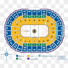 Boston Bruins Seating Chart Bruins Td Garden Seating Chart