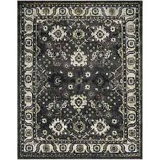 safavieh vintage hamadan dark grey ivory distressed area rug 9 x 12