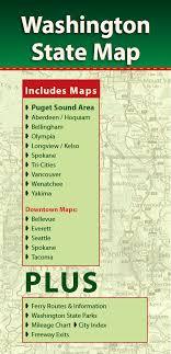 Washington State Mileage Chart Washington State Map