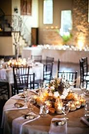 Round Table Settings For Weddings Round Table Wedding Centerpiece Ideas Pearloasis Info