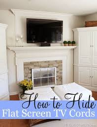 how to easily hide wall mounted flat screen tv wires when you can