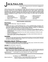 Sample Entry Level Nurse Resume Resume Sample Web