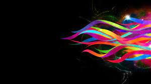 Black Rainbow Wallpaper Hd
