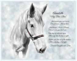 horse memorial photo