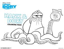 Small Picture Finding Dory Coloring Page Get Coloring Pages