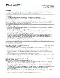 chemical engineer resume samples