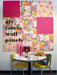 pink diy room decor ideas diy fabric wall panels cool pink bedroom crafts and