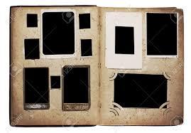 Photo Albulm Old Photo Album Isolated On White Background