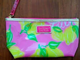 lilly pulitzer cosmetic makeup bag for