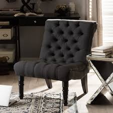 living room chairs accent chairs traditional grey fabric lounge chair by baxton studio