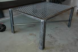 Industrial Metal Coffee Table Robin Metal Coffee Table Frame Only