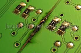 jaguar s type hvac climate control electronics repair ccm burned