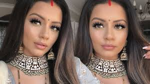 indian wedding makeup tutorial get ready with me kaushal beauty