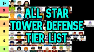 Here is the latest list of active all star tower defense codes for february 2021. All Star Tower Defense Tier List Roblox Youtube
