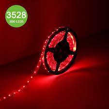 Red Led Rope Light 12v Le 12v Flexible Led Strip Rope Lights Red 2835 Smd Led