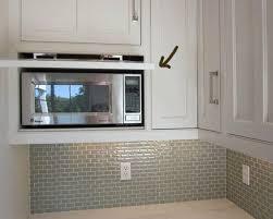 microwave shelf concealed