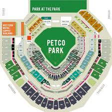 Qualcomm Interactive Seating Chart Petco Park Seating Chart Map Your Padres Seat