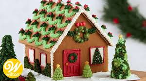 Ideas using gingerbread christmas home decorations Christmas Cottage gingerbread gingerbreadhouse christmas Youtube Easy Gingerbread House Decorating Techniques Wilton Youtube