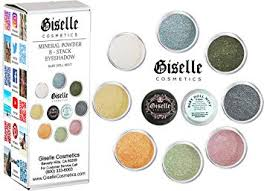 amazon mineral makeup by giselle baby doll mint 8 stack eyeshadow beauty