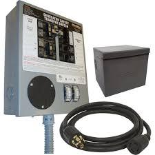 free shipping generac prewired manual transfer switch expands Generac 400 Amp Transfer Switch Wiring Diagram free shipping generac prewired manual transfer switch expands to 10 circuits, 30 amps Generac Transfer Switch Installation
