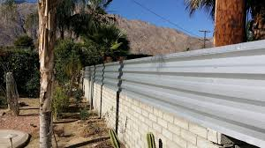 photo of allen fence construction desert hot springs ca united states corrugated