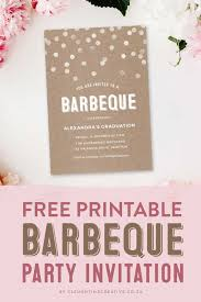 How To Make Printable Invitations Throw A Stylish Barbeque Party With This Gorgeous Invitation