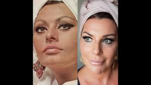 sophia loren 60s makeup tutorial