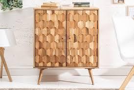 Casa Padrino Designer Barschrank Naturfarben 76 X 46 X H 89 Cm Moderner Massivholz Weinschrank Mit 2 Türen Barmöbel