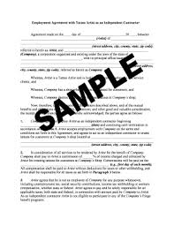 Sample Freelance Writing Contract Forms And Templates - Fillable ...