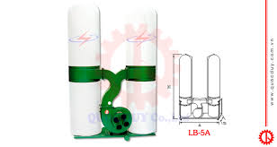 Máy hút bụi 2 túi vải 5HP - LB 5A | MÁY CHẾ BIẾN GỖ QUỐC DUY