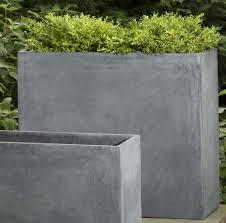 contemporary concrete planters  contemporary concrete planters