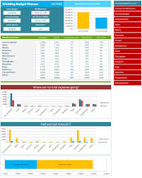 wedding spreadsheet wedding budget calculator and estimator spreadsheet