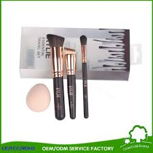 whole beauty supply distributor kylie white makeup brushes 5pcs with bag