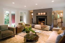 fireplace niche decorating ideas living room contemporary with