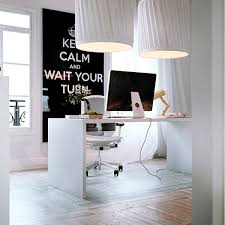 white office decor. White Home Office Decor A