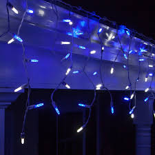 Blue White Outdoor Christmas Lights Cheap Led Christmas Icicle Lights Outdoor Find Led