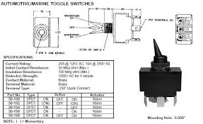 switches toggle  dpdt 20a auto toggle switch