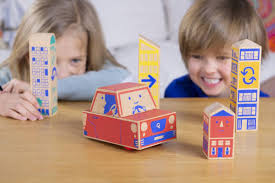 <b>Wooden block toy</b> teaches coding, without screens - reading ability ...