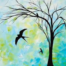 wall painting the simple life by madart by megan duncanson