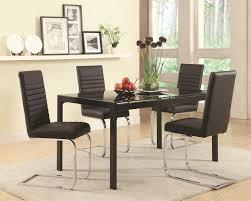black glass dining table black glass dining table