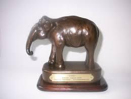 BONDED BRONZE ELEPHANT TINA STATUE By MARCELLA SMITH SCULPTURE POTTERY FINE  ART | eBay