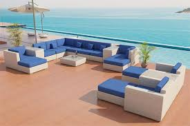 White patio furniture Wrought Iron Image Of White Wicker Patio Furniture Placed Traian Hotel Summer White Wicker Patio Furniture Pleasant White Wicker Patio