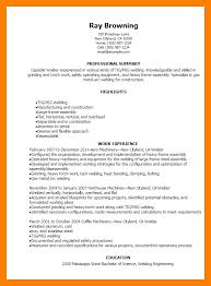 Welder Resume Interesting 60 Welder Resume Sample By Nina Designs