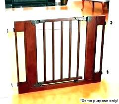 Banister To Wall Baby Gate For Stairs With Spindles Wooden Gates B ...