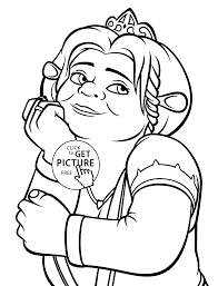 Small Picture Princess Fiona coloring pages for kids printable free coloing