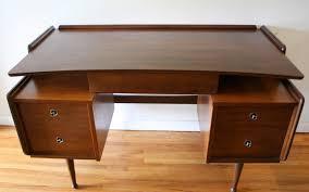 mid century modern floating desk