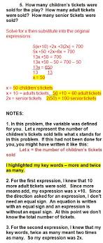 learn how to write and solve equations based on algebra word problems