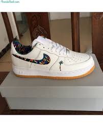 White Low Nike Force Sneakers Maldives 1 Air