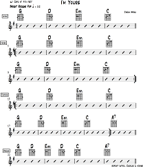 I M Yours Strumming Pattern