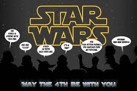 May the Fourth Be With You   Happy star wars day, Star wars humor, May the  4th be with you